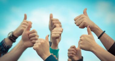 Rare Disease Week | Advocacy | Hands giving thumbs-up
